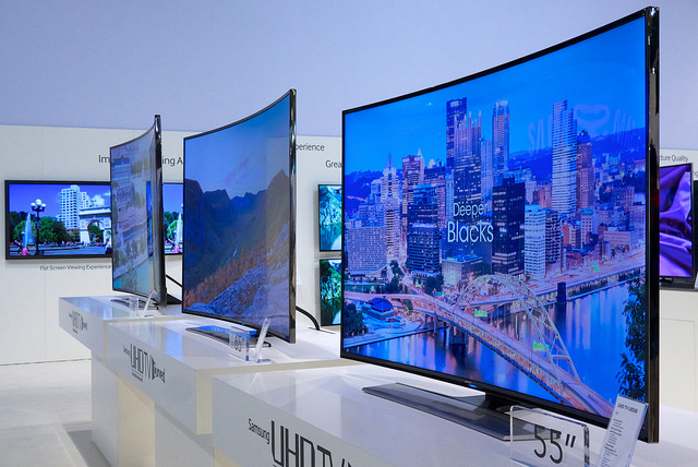 More Curved TVs