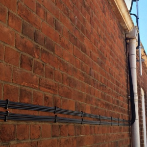 Courts Bar Colchester Sky cabling