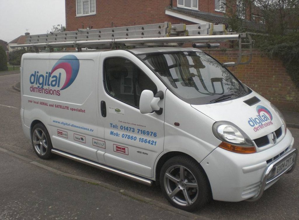 Digital Dimensions Van