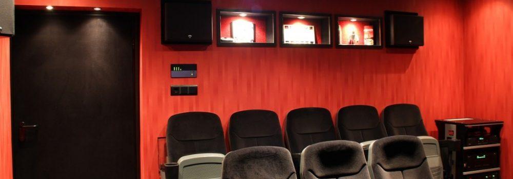 Home cinema setup